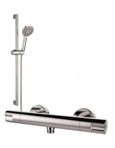 Termostática de ducha con barra...