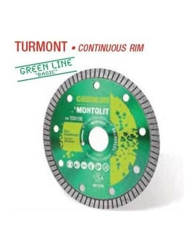 Disco diamante TURMONT 115 GREEN LINE...