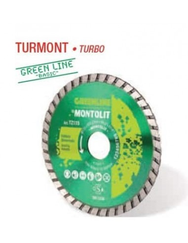 Disco diamante TURMONT TURBO 115...