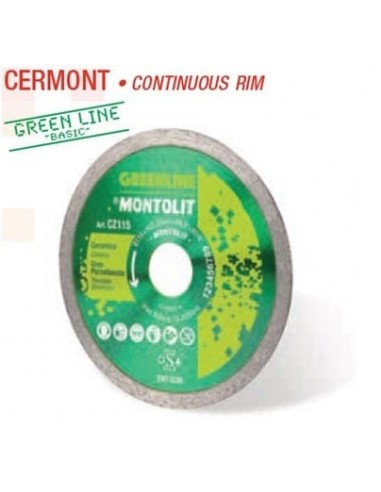 Disco diamante CERMONT 115 GREEN LINE...