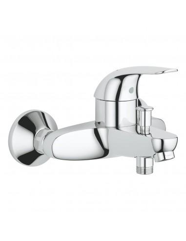 Monomando de baño-ducha EUROECO cromo...
