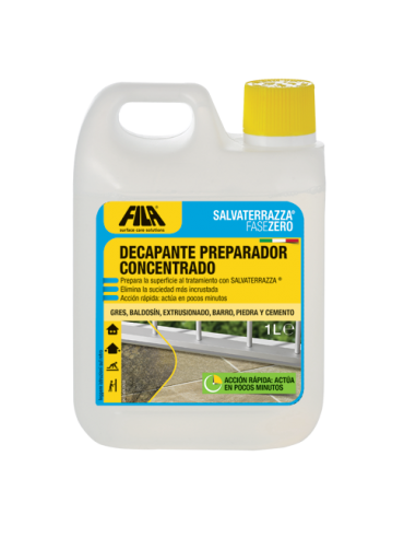 Detergente SALVATERRAZZA FASEZERO FILA